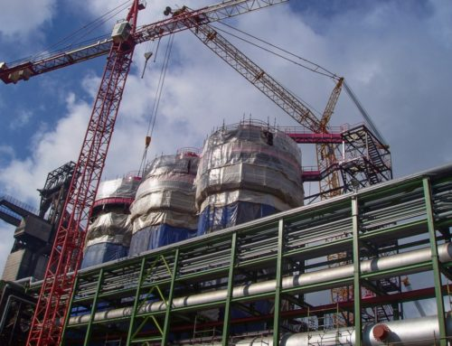 Silo – primary and secondary steel structures, 460 t, Duisburg, Germany