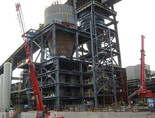 Zařízení na úpravu uhlí, 600 t, hutě Dillingen, Německo