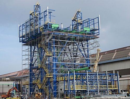 Podpůrná konstrukce zásobníku vody, Dunkerque, Francie