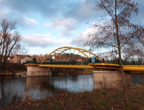 Mostní zábradlí, Cumbach, Německo